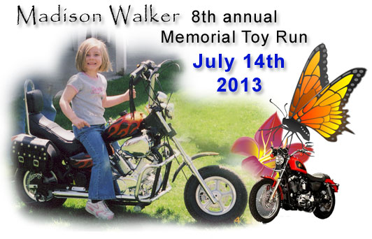 10th Annual Madison Walker Memorial Toy Run